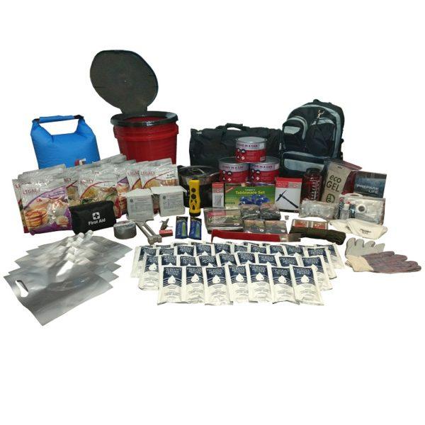 2 person 2 week earthquake survival kit