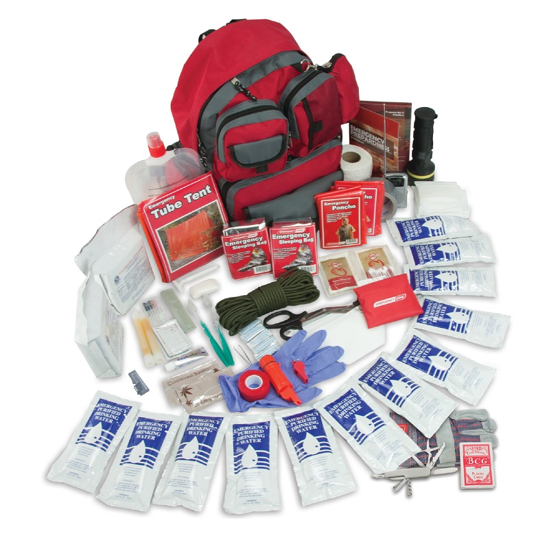 2 Person 72 Hour Family Prep Survival Kit