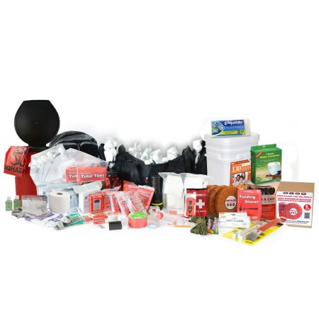 Premium 2 Week Earthquake Kit - 4 Person